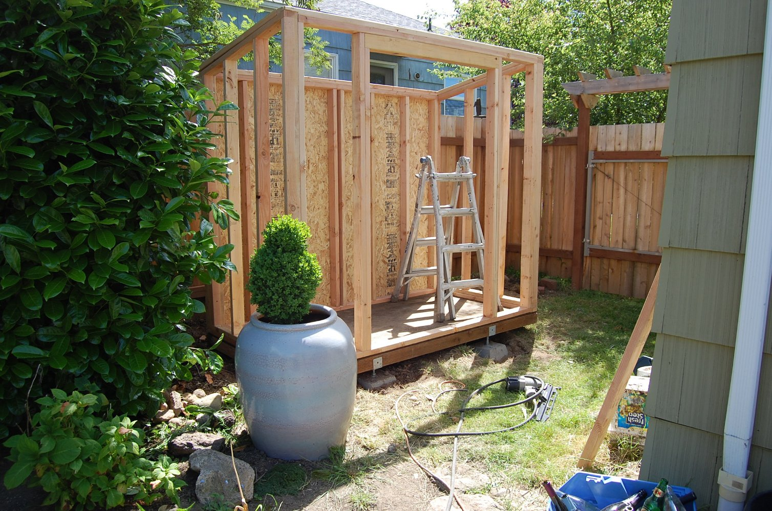 Building A Shed : All About Bicycle Storage Shed Plans | Shed Plans ...