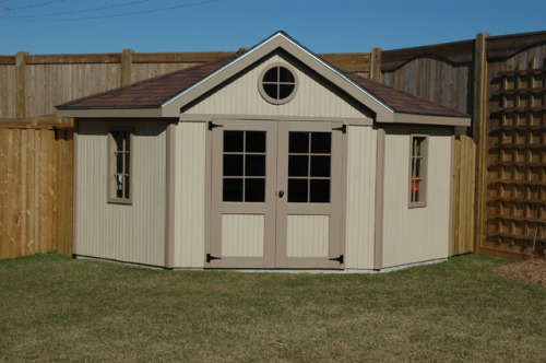 Corner Sheds | Shed Plans Kits