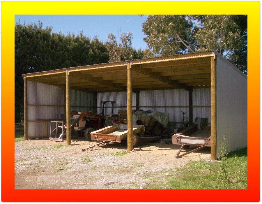 Machinery shed with living quarters plans joy studio Barn plans and outbuildings
