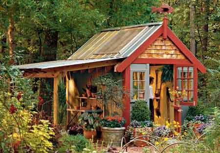 Garden Shed Design Ideas  Plans Kits