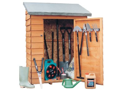 Garden tool shed shed plans kits for Equipment shed plans free