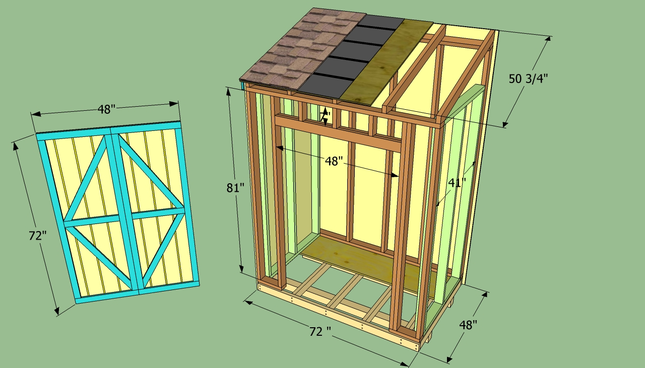 Lean To Shed Designs | Shed Plans Kits