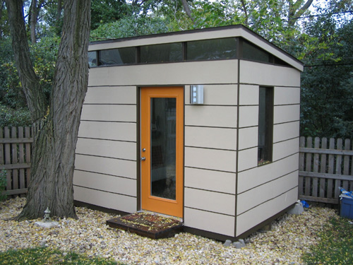Modern shed designs shed plans kits for Contemporary shed kits