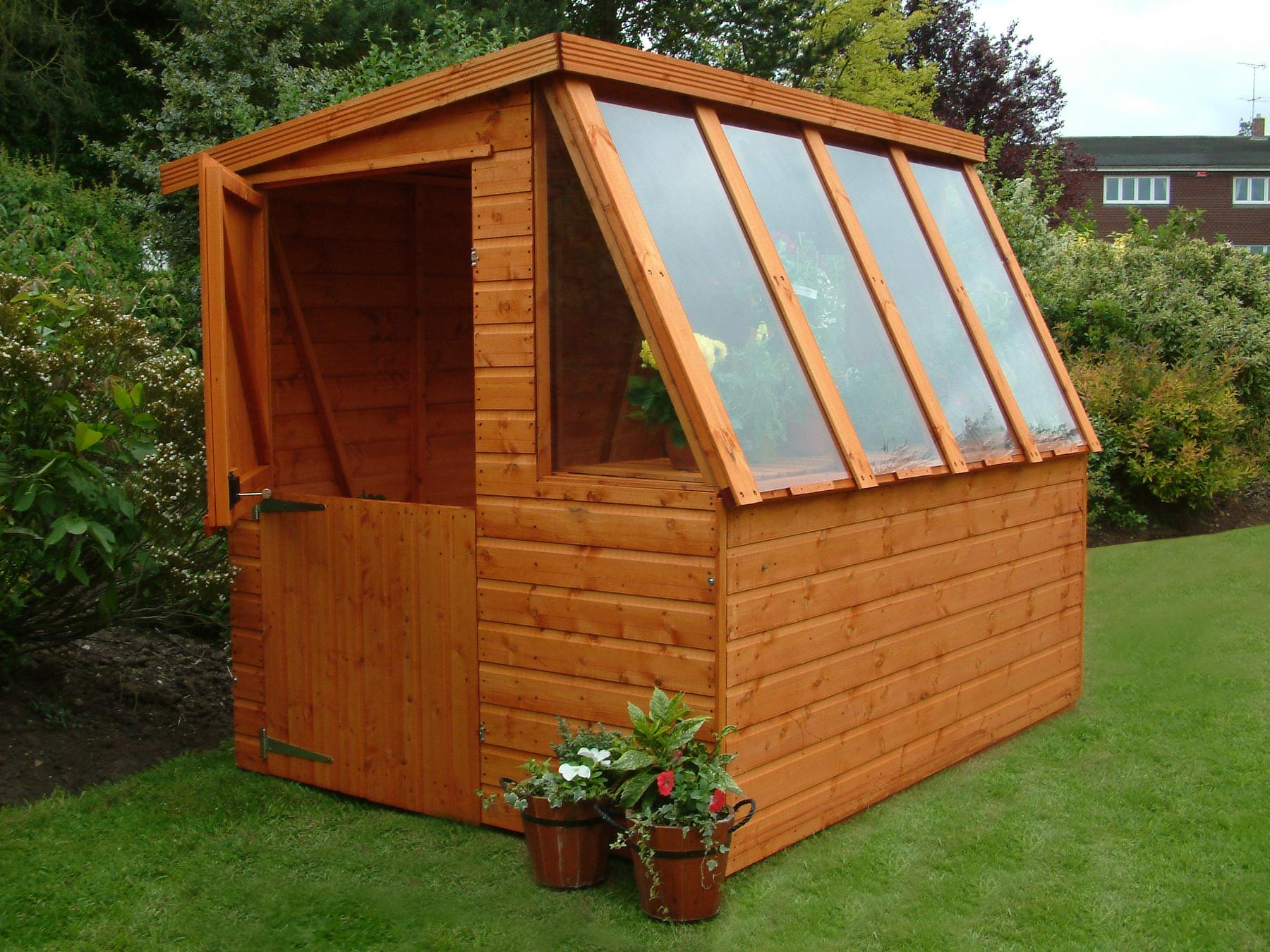 Potting sheds shed plans kits for Shed design plans