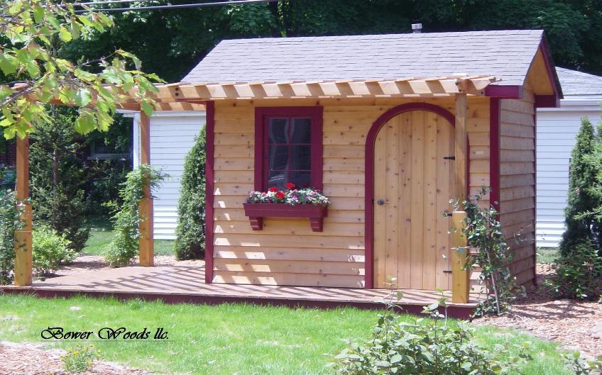 Potting sheds designs obtaining free shed plans on the for Garden potting sheds designs