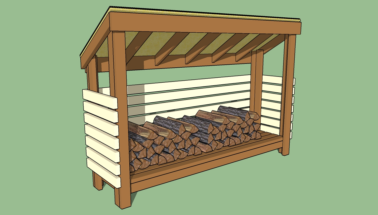 Firewood Shed Design : I Got Shed Building For Dummies Last Christmas ...