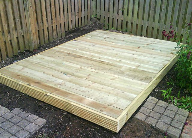 Darmin Methods For Building A Garden Shed Base