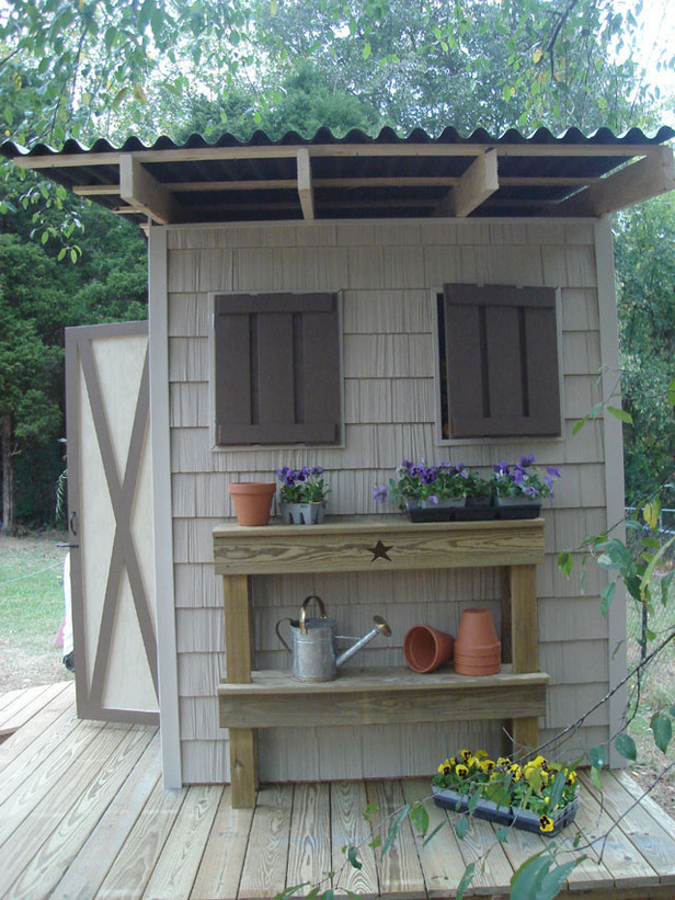 Diy garden sheds storage shed plans selecting the for New build garden designs