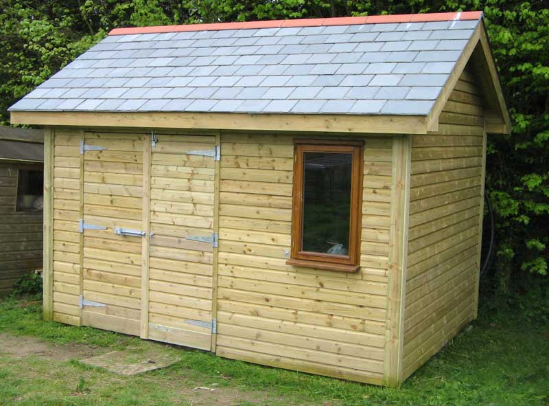 Diy garden sheds storage shed plans selecting the for Building a storage shed
