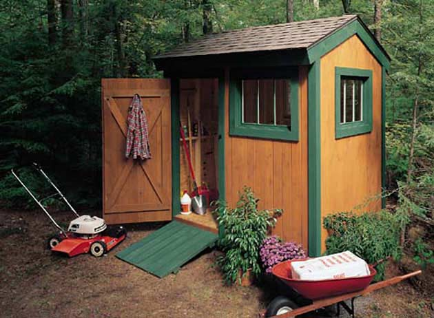 Diy garden sheds storage shed plans selecting the for Outside buildings design