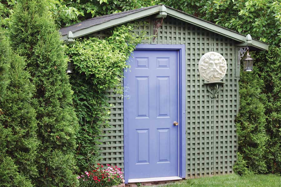 Diy Garden Sheds Storage Shed Plans Selecting The Right Building Site For