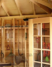 Garden Shed Interiors Captains Bed Plans Rewards Of