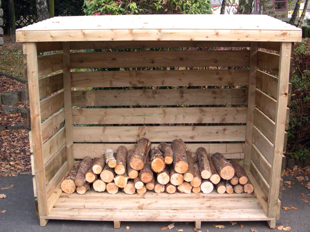 Log shed design