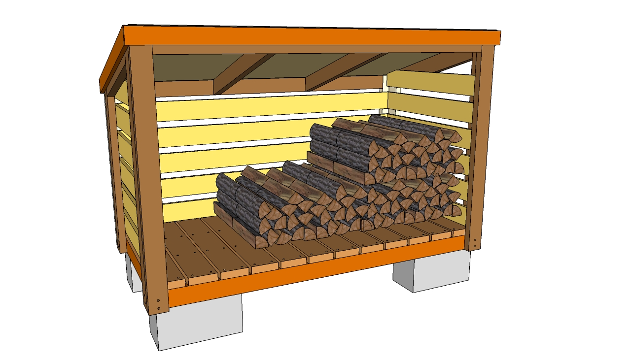 Permalink to free plans for building a wood shed