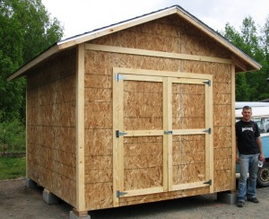 10 X 12 Shed