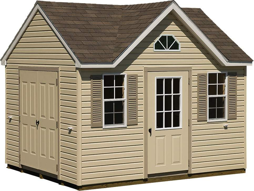 Plastic storage sheds at home depot 8x12 saltbox shed for Saltbox storage shed