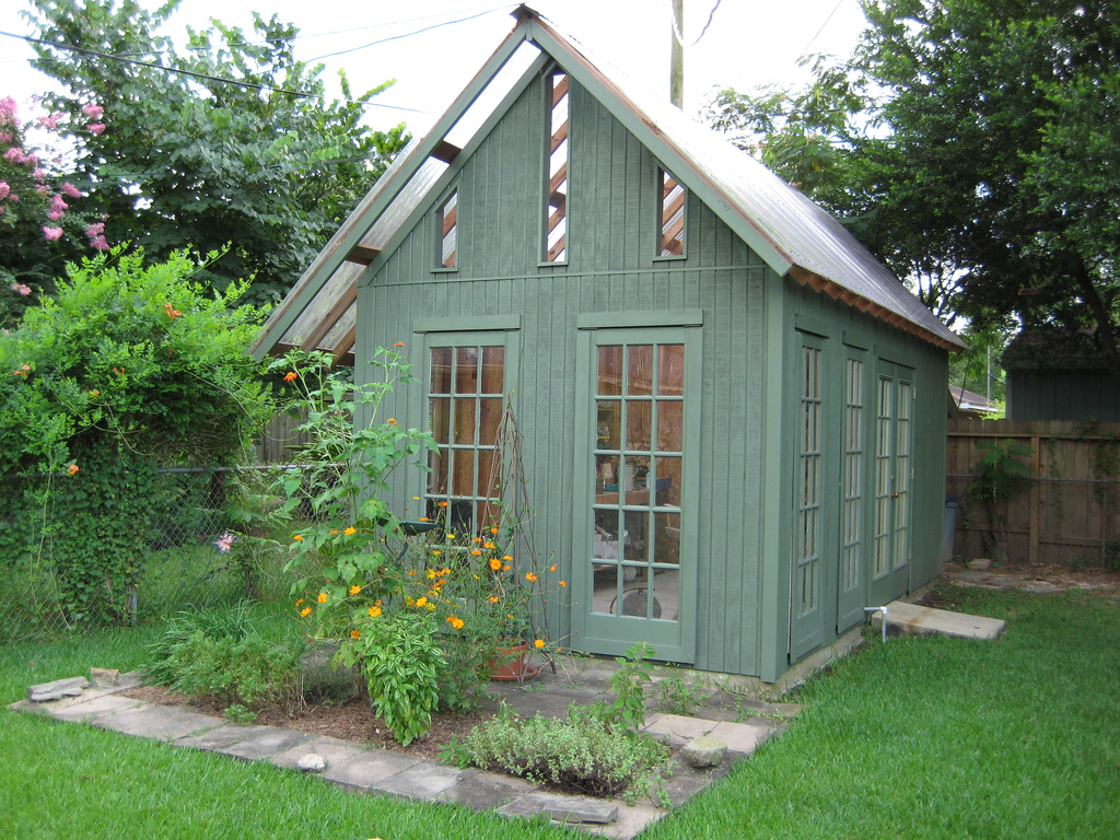 Awesome shed idea gardens pinterest sheds garden for Garden shed designs