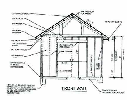 Blueprints For A Shed