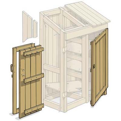 Build Shed Doors : I Got Shed Building For Dummies Last Christmas