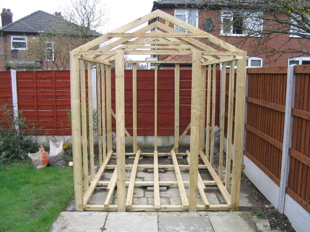 Sheds build or buy