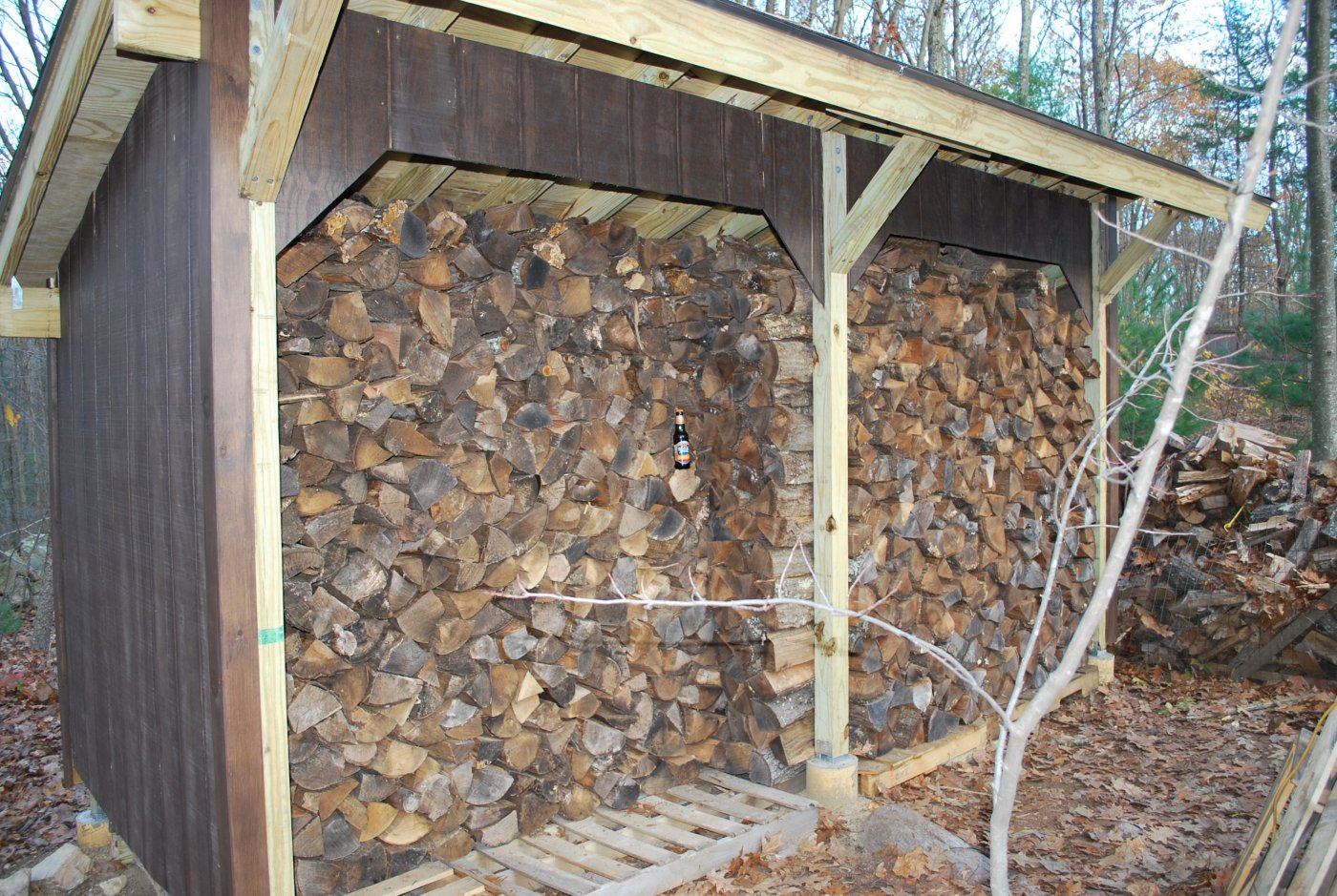 Building a firewood shed how to create modern shed plans for Wood shed plans