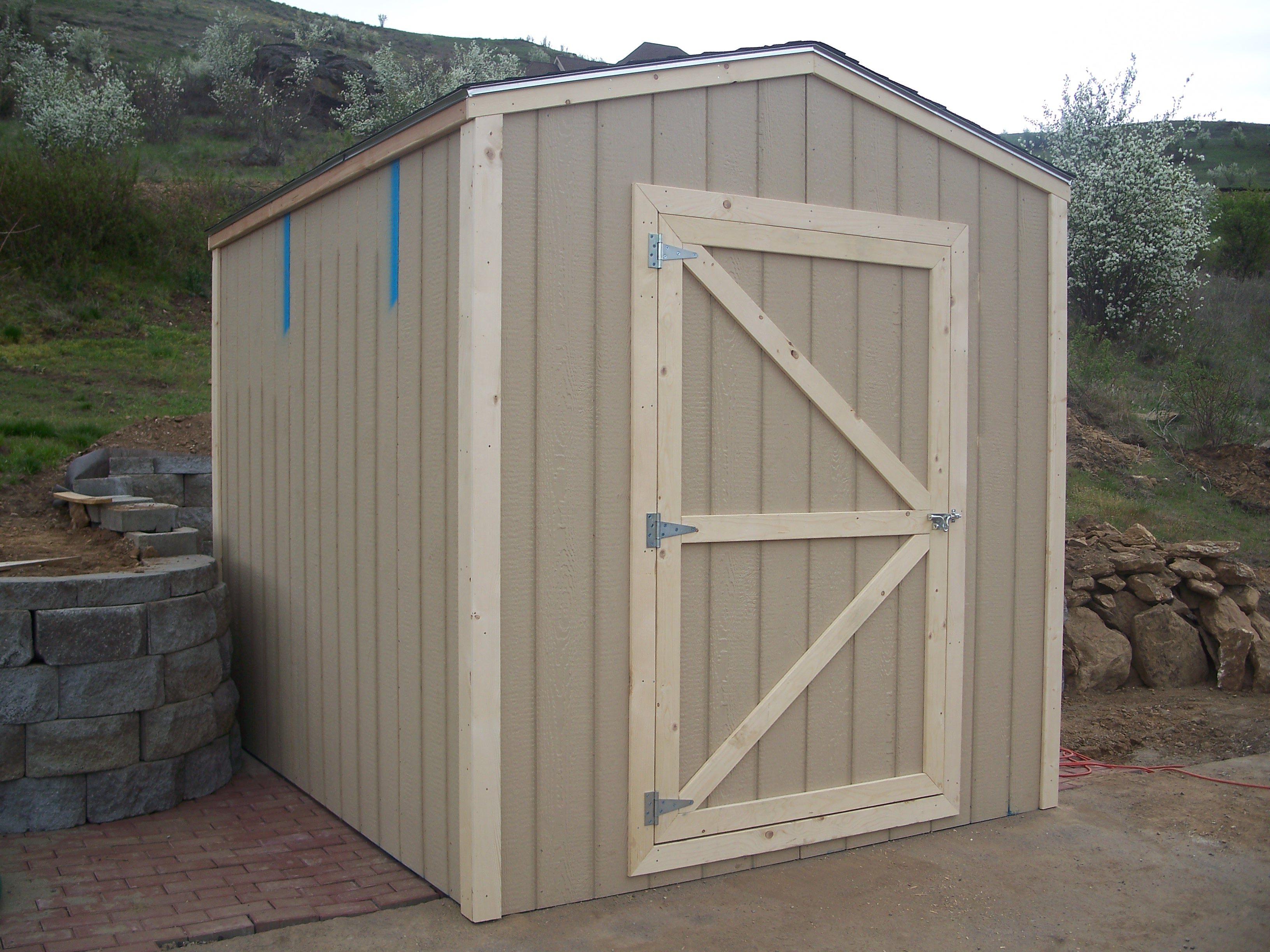 Do It Yourself Building Plans: Building A Shed Door : Diy Shed Plans