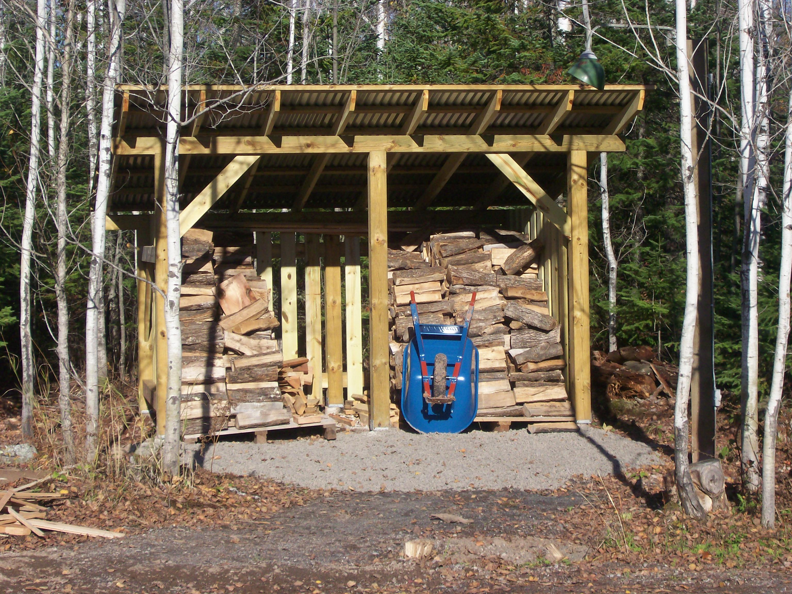 Building a wood shed tool shed blueprint a must have in for Wood storage building plans