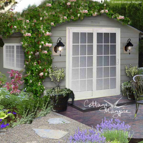 Cottage Garden Sheds : Potted Plants For All Seasons