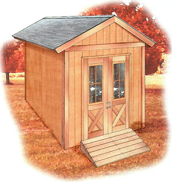 Free Shed Drawings