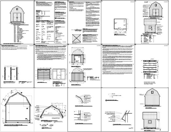 Gambrel shed plans vinyl sheds can they last longer than for Steel shed plans free