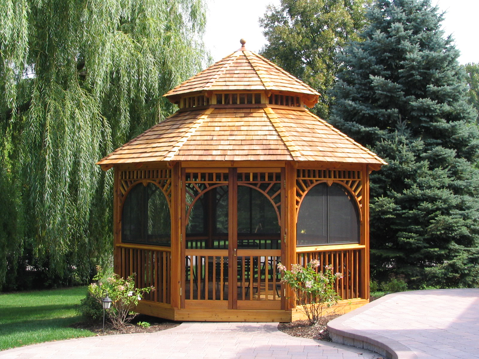 Gazebo garden shed plans building wood sheds for Outdoor plans and designs
