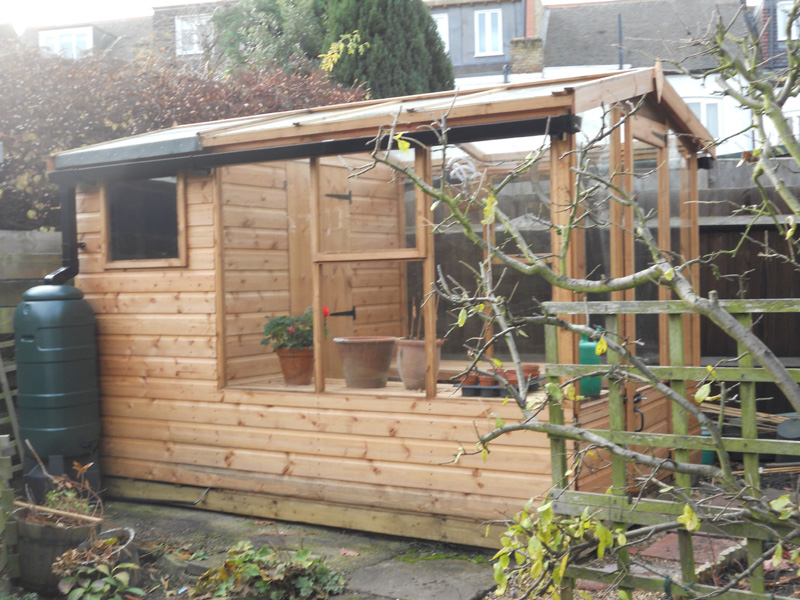 greenhouse garden shed - Garden Sheds With Greenhouse