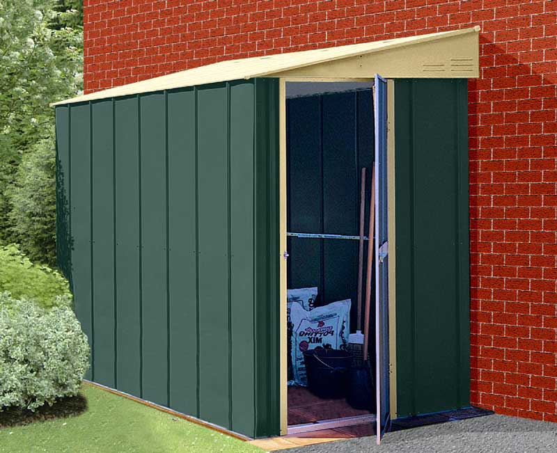 Lean To Garden Sheds Build An Affordable 10 12 Shed
