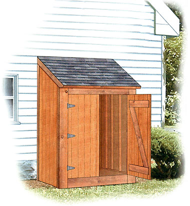 Build a yard shed for Outside buildings design