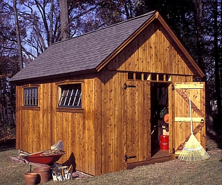 do it yourself sheds free plans