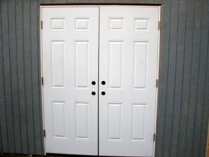 Outdoor Shed Doors