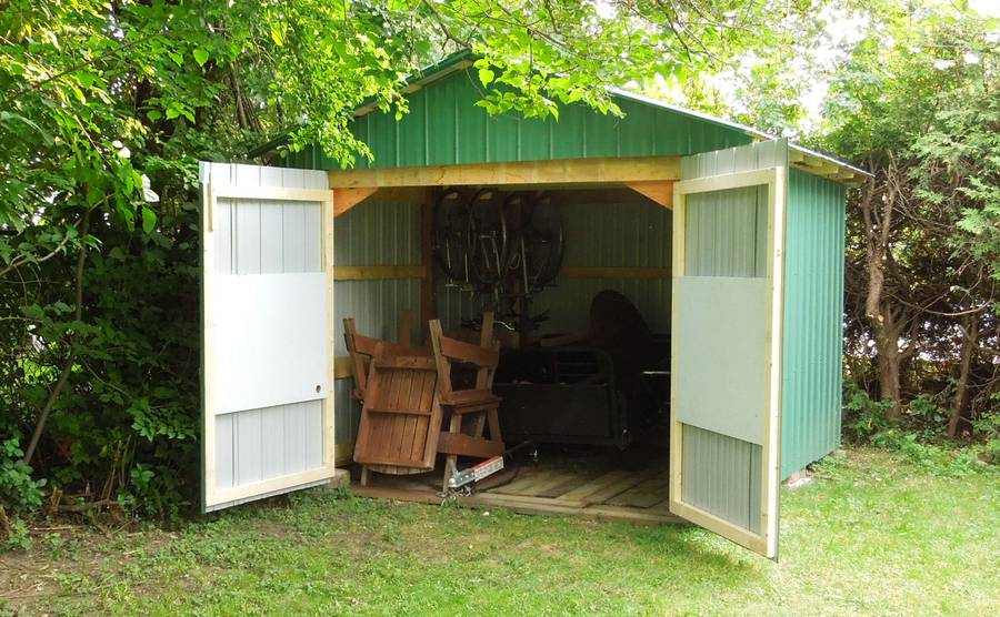 Outdoor shed doors storage shed plans shed plans kits for Yard barn
