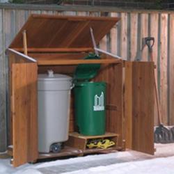 Outdoor Trash Shed Tips For Modern Shed Plans Shed