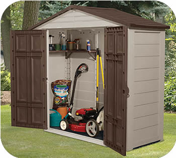 Plastic Storage Shed Four Points To Consider When