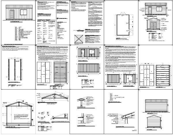 Shed Blueprint Tool Shed Plans The Way To Build One