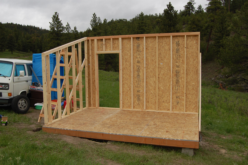 Diy shed framing
