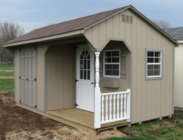 how to choose a shed color