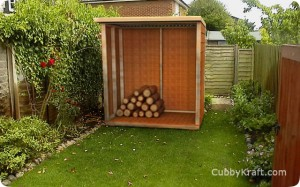 Small Wood Shed