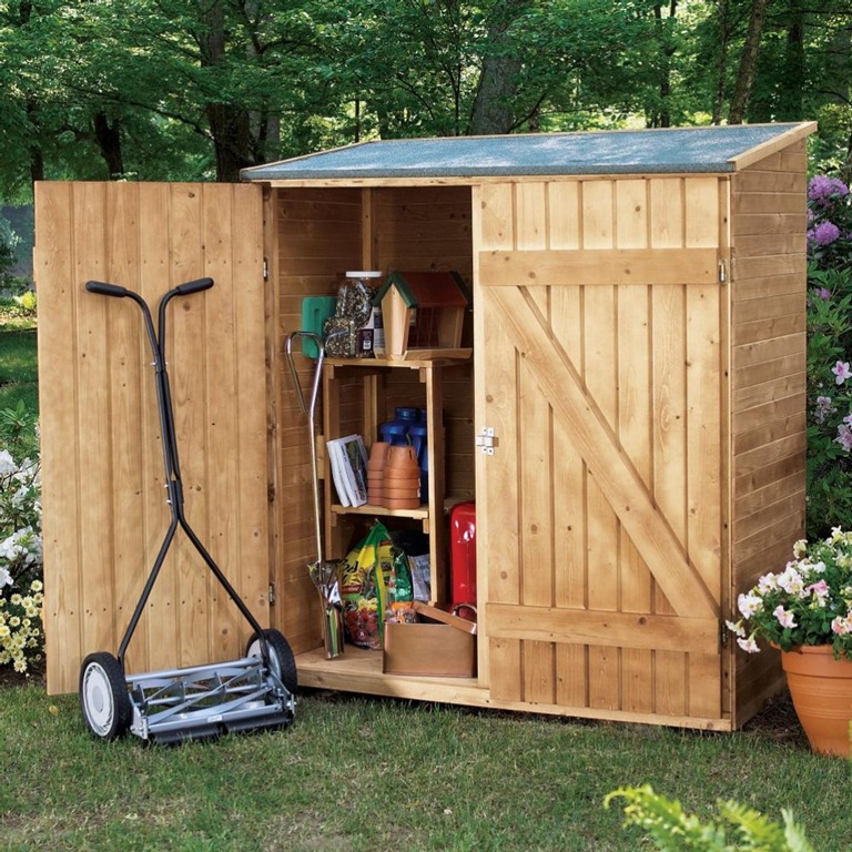 Small wood shed shed plans 12 16 shed plans kits for Outdoor wood shed