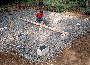 Storage Building Foundation What You Can Get From Patio