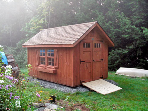 unique garden shed