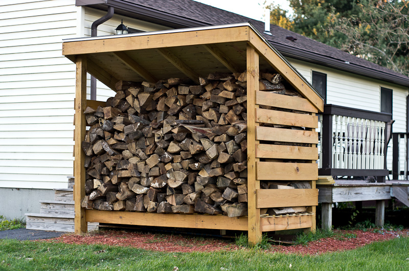 Firewood Storage Shed Building Plans Newshed Plans