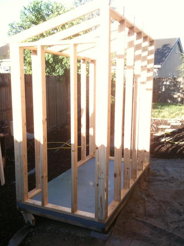 how to build a 5 x 10 shed