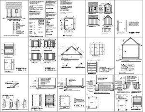 Free 5 x 8 shed plans for Man cave shed plans