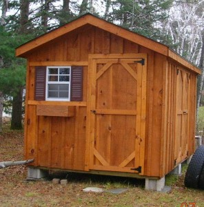 8×10 Shed Plans Free